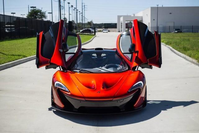 McLaren P1 đã qua sử dụng có giá bán khóc thét - Ảnh 1.