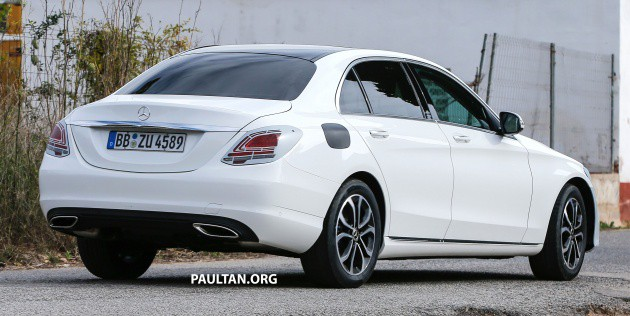 Mercedes-Benz C-Class bản nâng cấp mới lộ diện - Ảnh 3.