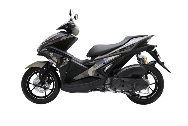 Yamaha NVX có thêm màu sơn mới, tặng thêm cặp phuộc dầu cho bản 155 phân khối - Ảnh 16.