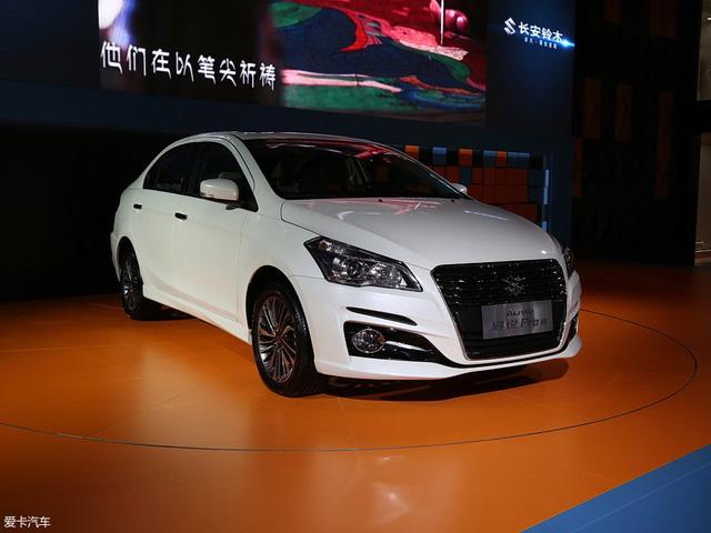 Sedan giá rẻ Suzuki Ciaz 2017 chính thức được vén màn - Ảnh 1.