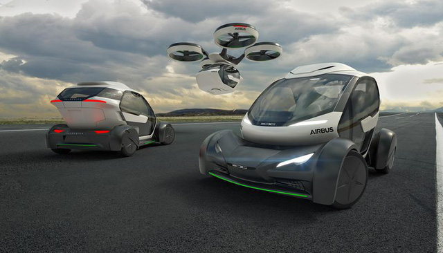 Vừa là ô-tô, vừa là drone bay trên trời - Thiết kế tương lai của Airbus sẽ khiến công chúng phải kinh ngạc - Ảnh 1.