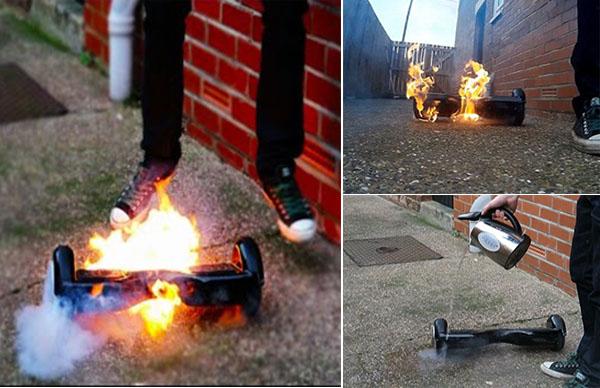 Xe điện hai bánh bốc cháy, gây hỏa hoạn và giết chết một em bé 3 tuổi - Ảnh 1.