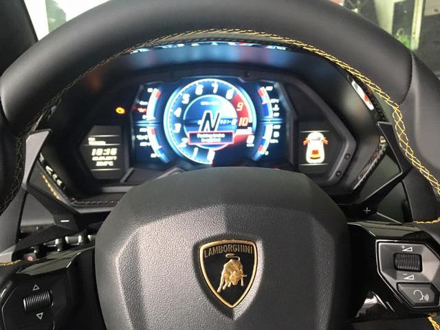 Lamborghini Aventador S đầu tiên cập bến Việt Nam xuất hiện tại quận 12 - Ảnh 7.