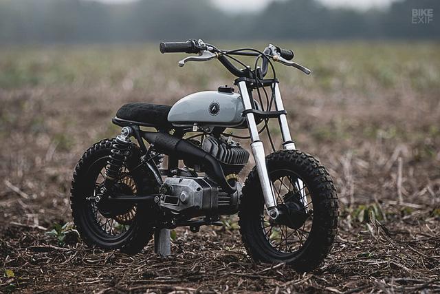 Đây là chiếc mini bike chất nhất bạn từng thấy - Ảnh 1.