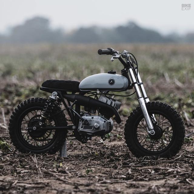 Đây là chiếc mini bike chất nhất bạn từng thấy - Ảnh 2.