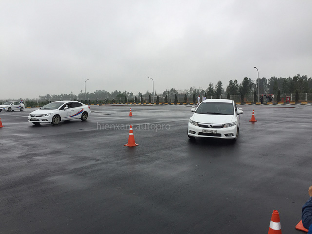 Sau 6 tháng, Trung tâm đào tạo lái xe an toàn mới của Honda Việt Nam đã khánh thành - Ảnh 3.