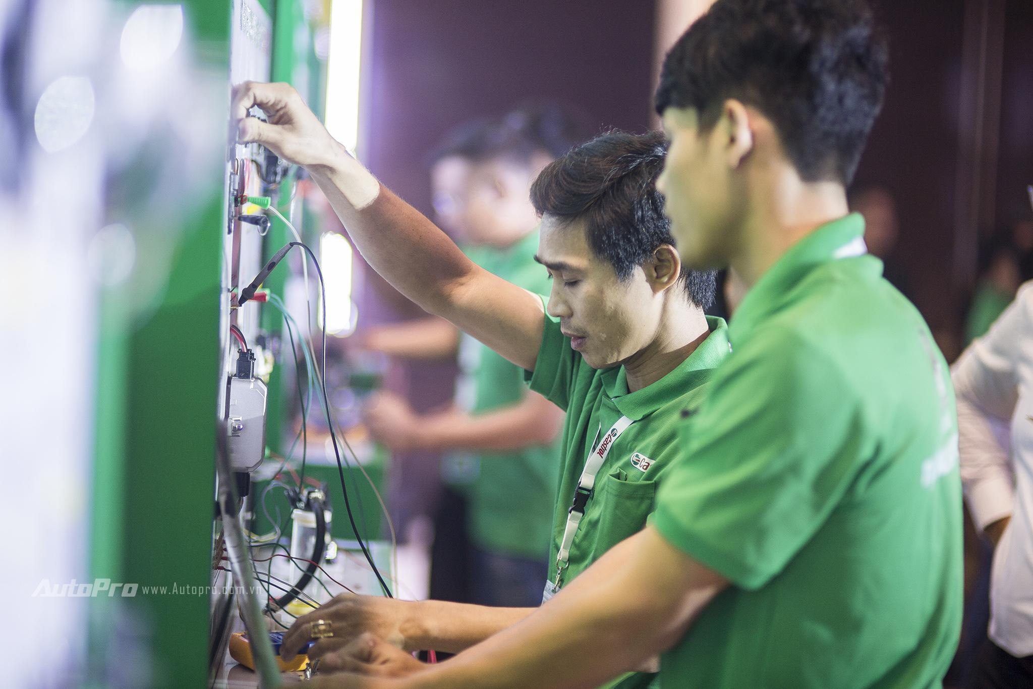 Thợ máy Việt tham gia tranh tài thợ giỏi khu vực Châu Á Thái Bình Dương - Ảnh 3.