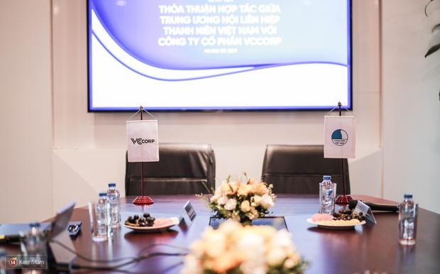 Lễ ký kết thỏa thuận hợp tác giữa TW Hội Liên hiệp Thanh niên Việt Nam và Công ty CP VCCorp - Ảnh 5.