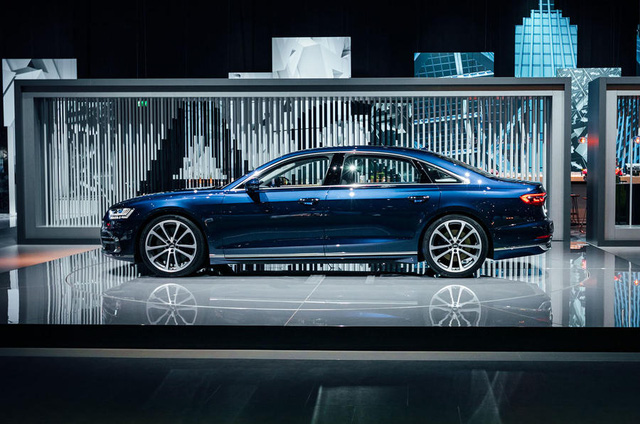 Bắt gặp sedan hạng sang cỡ lớn Audi A8L 2018 chạy ngoài đường phố - Ảnh 5.
