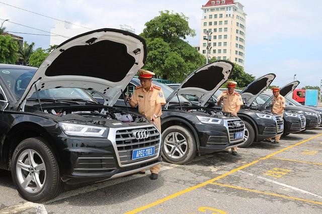 Soi kỹ dàn xe phục vụ APEC tại Đà Nẵng - Ảnh 1.