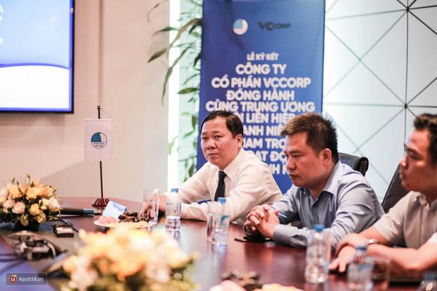 Lễ ký kết thỏa thuận hợp tác giữa TW Hội Liên hiệp Thanh niên Việt Nam và Công ty CP VCCorp - Ảnh 7.