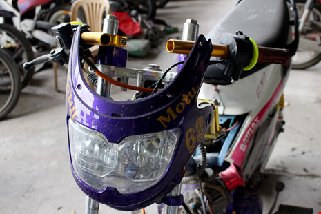 Ảnh: Những chiếc xe đua có kết cấu quái dị bị bắt giữ - Ảnh 8.