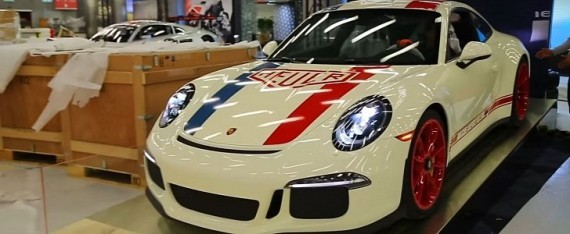 Làm quen với Porsche 911 R phiên bản đồng hồ TAG Heuer - Ảnh 8.
