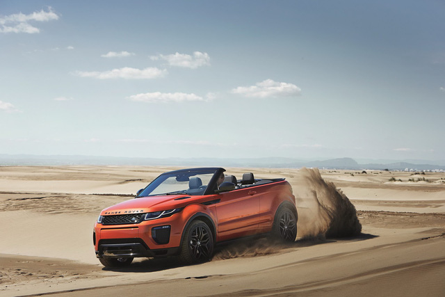 Range Rover Evoque mui trần bất ngờ cập bến Việt Nam - Ảnh 3.