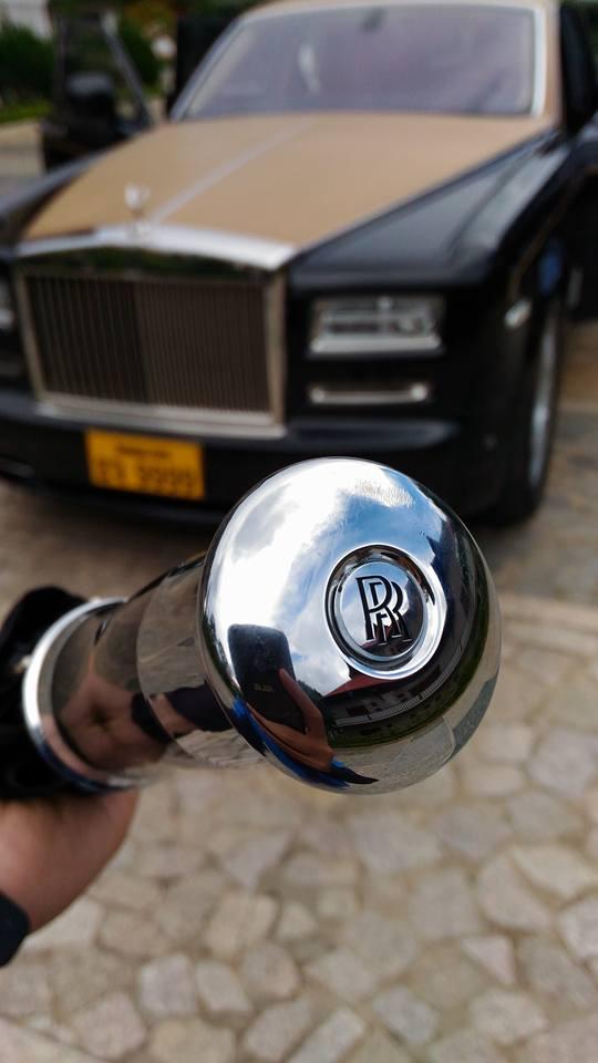 Rolls-Royce Phantom Series II màu độc, biển tứ quý 9 của Lào xuất hiện tại Đà Lạt - Ảnh 6.