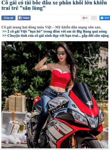 Sự thật đằng sau nữ biker Việt gây xôn xao cộng đồng mạng - Ảnh 2.