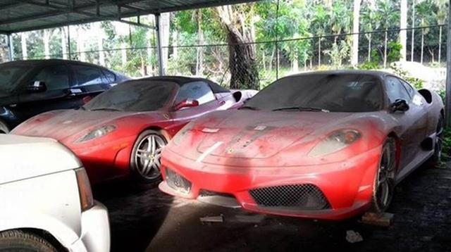 Loạt siêu xe và xe sang phủ bụi tại Việt Nam - Ảnh 1.