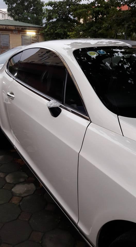 Xót xa với Bentley Continental GT Speed bị vặt gương tại Hà thành - Ảnh 2.