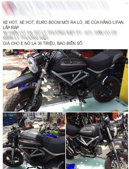 Xuất hiện phiên bản nhái Ducati Scramber 36 triệu Đồng tại Sài thành - Ảnh 2.