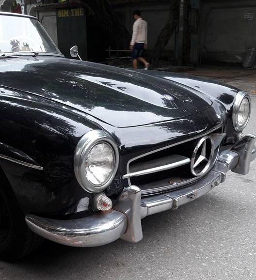 Hàng hiếm Mercedes-Benz 190SL của đại gia Ninh Bình tái xuất trên phố - Ảnh 7.