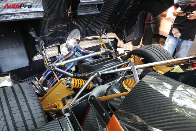 """Minh """"nhựa"""" đem siêu xe Pagani Huayra đi đăng ký biển số lần thứ 3 nhưng không thành - Ảnh 8."""