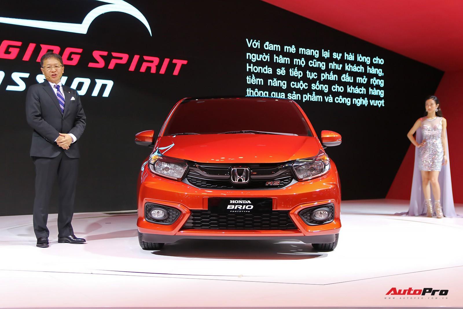 Đại lý đã nhận đặt cọc và hẹn giao xe cho dòng Honda Brio và BR-V