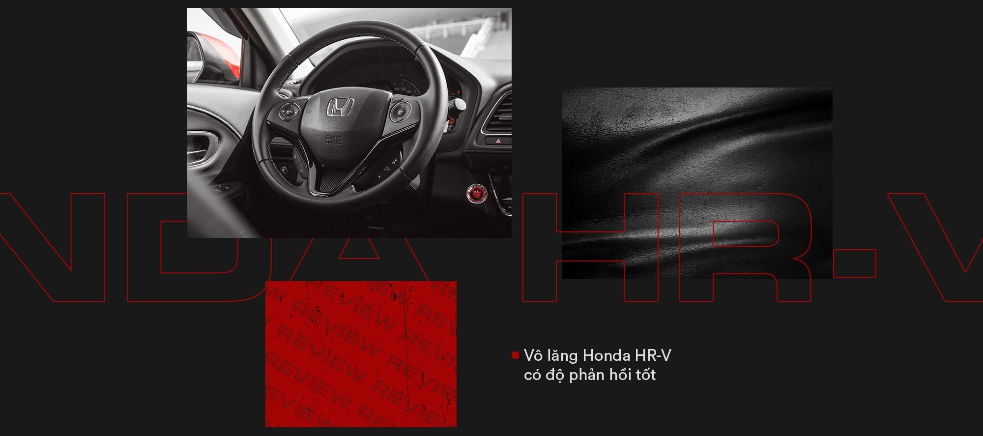 Đánh giá Honda HR-V: Thực dụng kiểu Nhật, đồ chơi kiểu Hàn và cách chiều lòng sự khó hiểu kiểu người Việt - Ảnh 17.