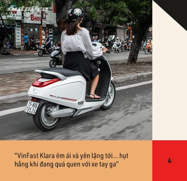 72 giờ trải nghiệm VinFast Klara của nữ nhân viên công sở Hà thành sau nỗi ám ảnh với xe máy điện - Ảnh 9.