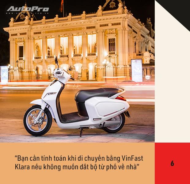 72 giờ trải nghiệm VinFast Klara của nữ nhân viên công sở Hà thành sau nỗi ám ảnh với xe máy điện - Ảnh 13.