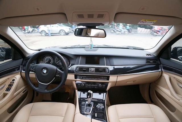 BMW 520i - Audi A6 2016: đi chưa đến 20.000km, xe nào giữ giá hơn? - Ảnh 10.