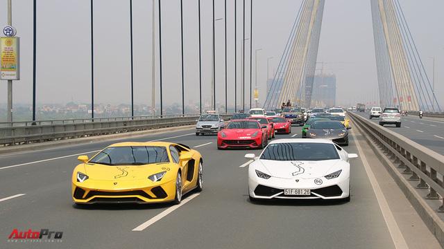 Trực tiếp Car & Passion ngày 2: Đoàn siêu xe đã về Hà Nội - Ảnh 2.
