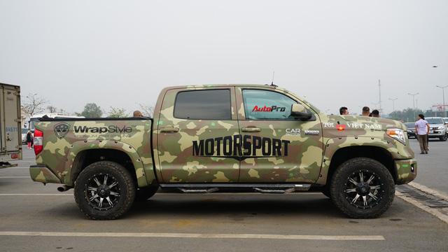 Trên 2 chiếc siêu bán tải làm nhiệm vụ hậu cần Car & Passion 2018 có gì? - Ảnh 2.