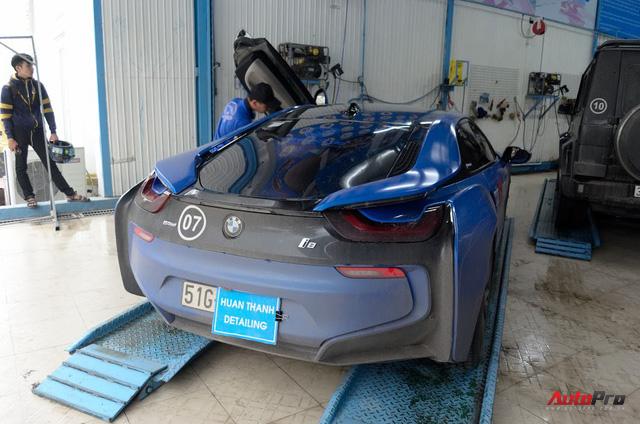 Siêu xe được chăm sóc thế nào sau 5 ngày Car & Passion 2018? - Ảnh 5.