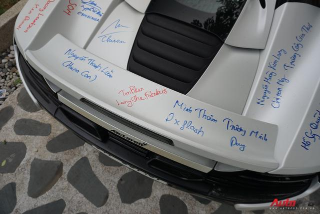 """Kết thúc Car & Passion 2018, McLaren 650S Spider của Cường đô-la """"xăm"""" dày đặc chữ ký - Ảnh 11."""