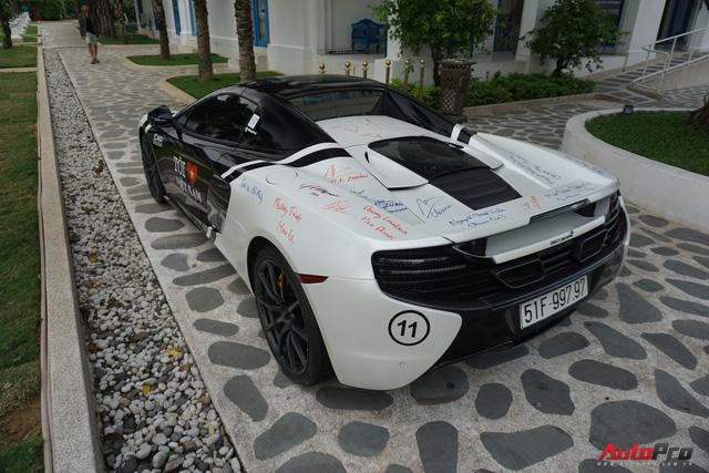 """Kết thúc Car & Passion 2018, McLaren 650S Spider của Cường đô-la """"xăm"""" dày đặc chữ ký - Ảnh 8."""