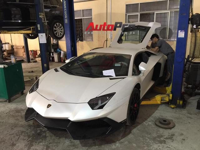 Sửa siêu xe Lamborghini kiểu Việt Nam - Chuyên gia cũng phải giật mình - Ảnh 6.