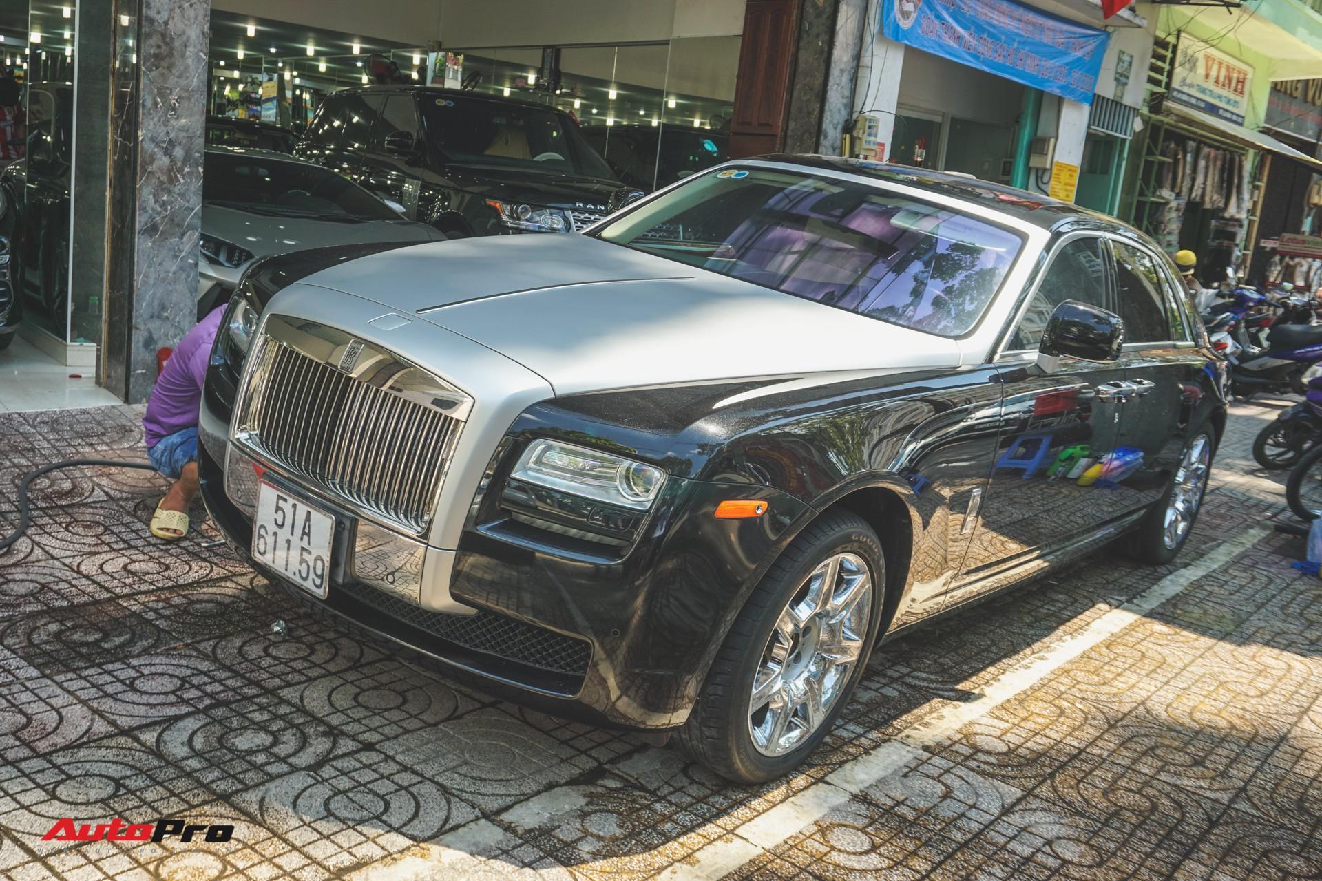 Ông chủ cafe Trung Nguyên mang 2 chiếc Rolls-Royce đến showroom để bán và làm đẹp - Ảnh 3.