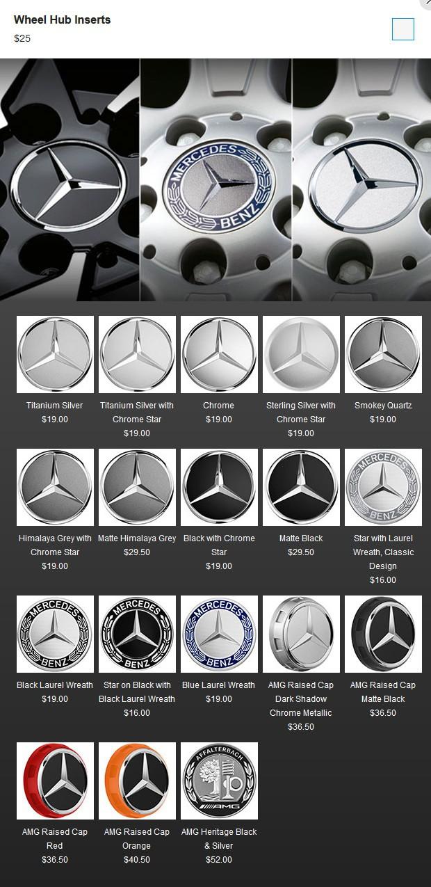 Chiều khách hàng giàu có, Mercedes-Benz tung ra 19 tùy chọn nắp chụp bánh xe - Ảnh 2.