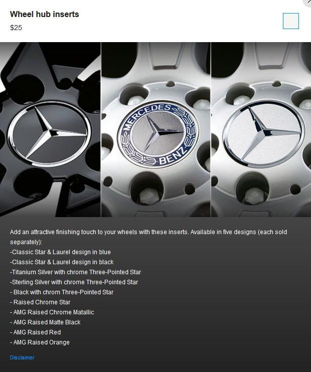 Chiều khách hàng giàu có, Mercedes-Benz tung ra 19 tùy chọn nắp chụp bánh xe - Ảnh 1.