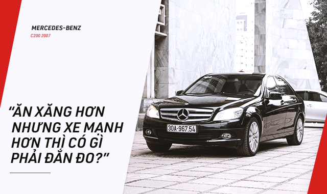 Người dùng đánh giá Mercedes-Benz C-Class hơn 10 năm tuổi: Đừng nghe lời đồn truyền miệng - Ảnh 4.