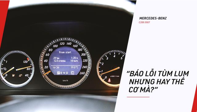 Người dùng đánh giá Mercedes-Benz C-Class hơn 10 năm tuổi: Đừng nghe lời đồn truyền miệng - Ảnh 6.
