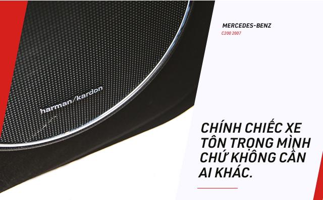 Người dùng đánh giá Mercedes-Benz C-Class hơn 10 năm tuổi: Đừng nghe lời đồn truyền miệng - Ảnh 8.