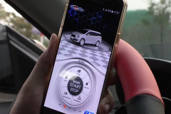 Người dùng đánh giá khoá thông minh Mykey lắp cho xe Hyundai Santa Fe - Ảnh 4.