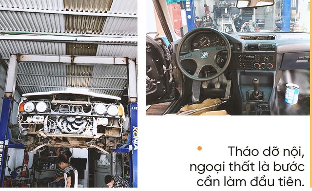 Hành trình lột xác BMW 525i cũ nát tuổi đời hơn 2 thập kỷ của nhóm người trẻ Việt - Ảnh 5.