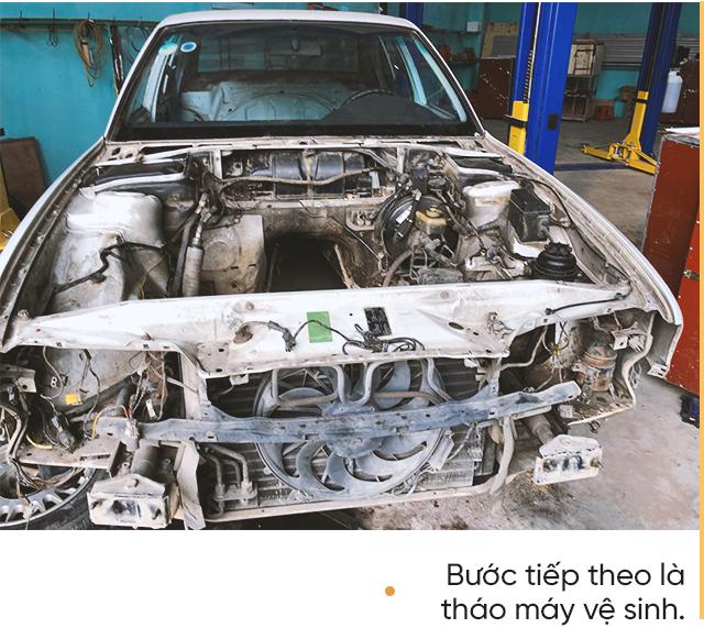 Hành trình lột xác BMW 525i cũ nát tuổi đời hơn 2 thập kỷ của nhóm người trẻ Việt - Ảnh 6.