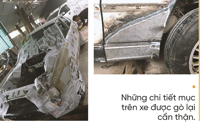 Hành trình lột xác BMW 525i cũ nát tuổi đời hơn 2 thập kỷ của nhóm người trẻ Việt - Ảnh 7.