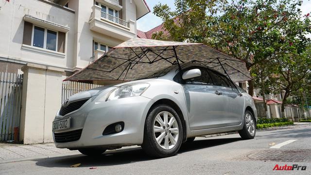Dùng thử ô che nắng xe hơi - Giải pháp chống cháy cho mùa hè oi bức đã thực sự đến từ hôm nay - Ảnh 15.