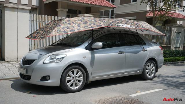 Dùng thử ô che nắng xe hơi - Giải pháp chống cháy cho mùa hè oi bức đã thực sự đến từ hôm nay - Ảnh 10.