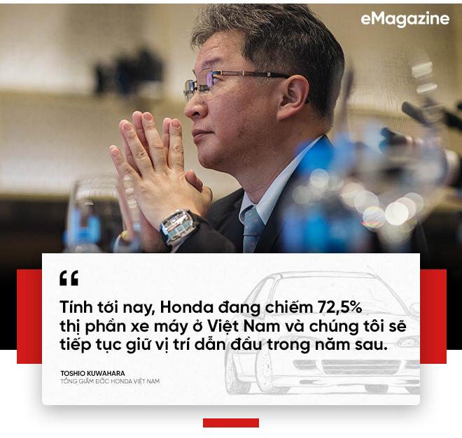 'Sếp' Honda Việt Nam tròn một năm ngồi ghế nóng: Thị trường xe máy, ô tô Việt vẫn còn tiềm năng - Ảnh 4.
