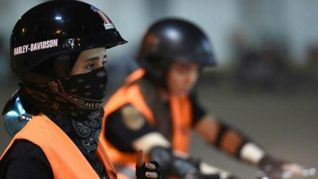 Đi xe máy - Giấc mơ thành hiện thực của phụ nữ Saudi Arabia - Ảnh 1.